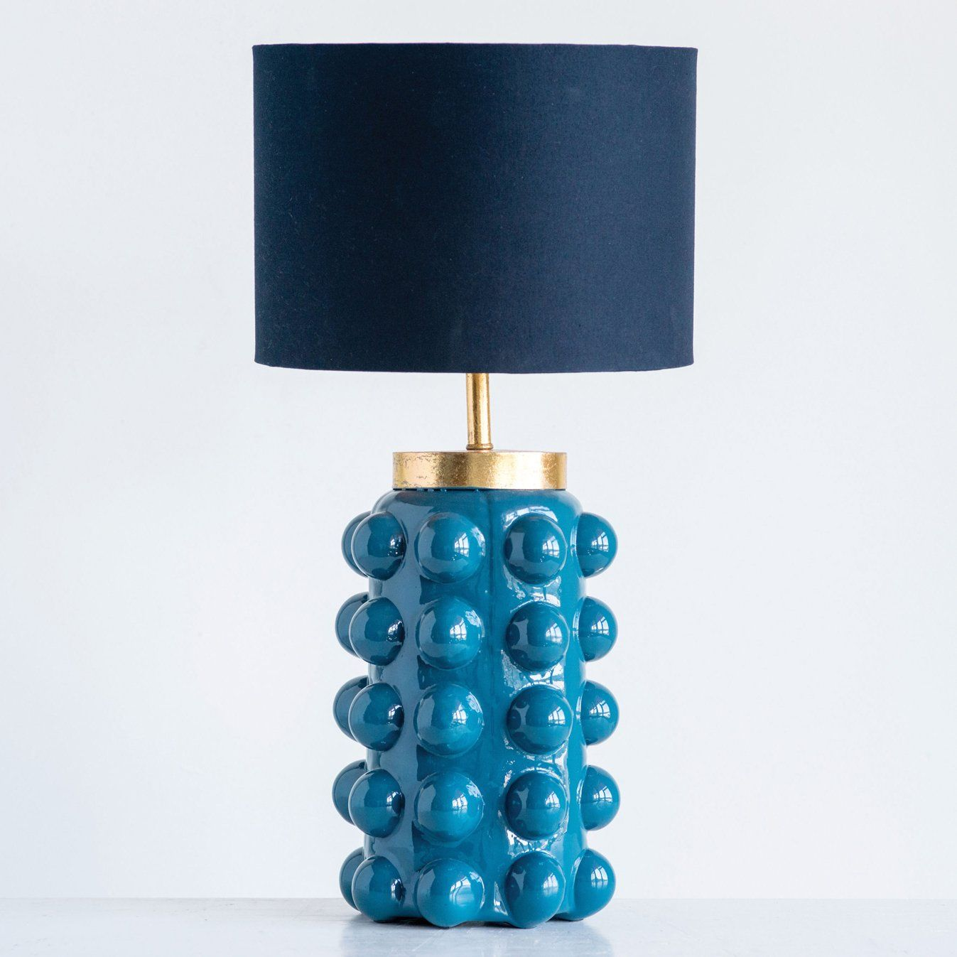 Richmond Table Lamp In 2021 Bubble Table Lamp Teal Table Lamps Table Lamp
