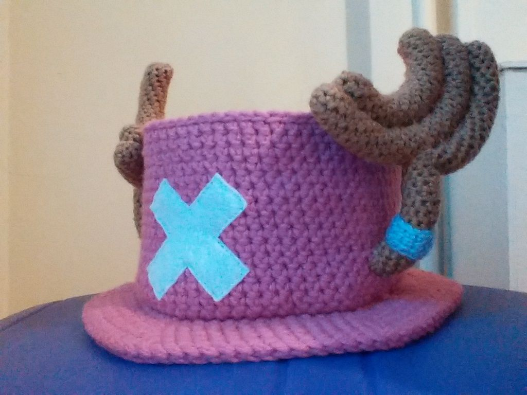 Chopper Hat by Milayou.deviantart.com on @DeviantArt | Amigurumi ...