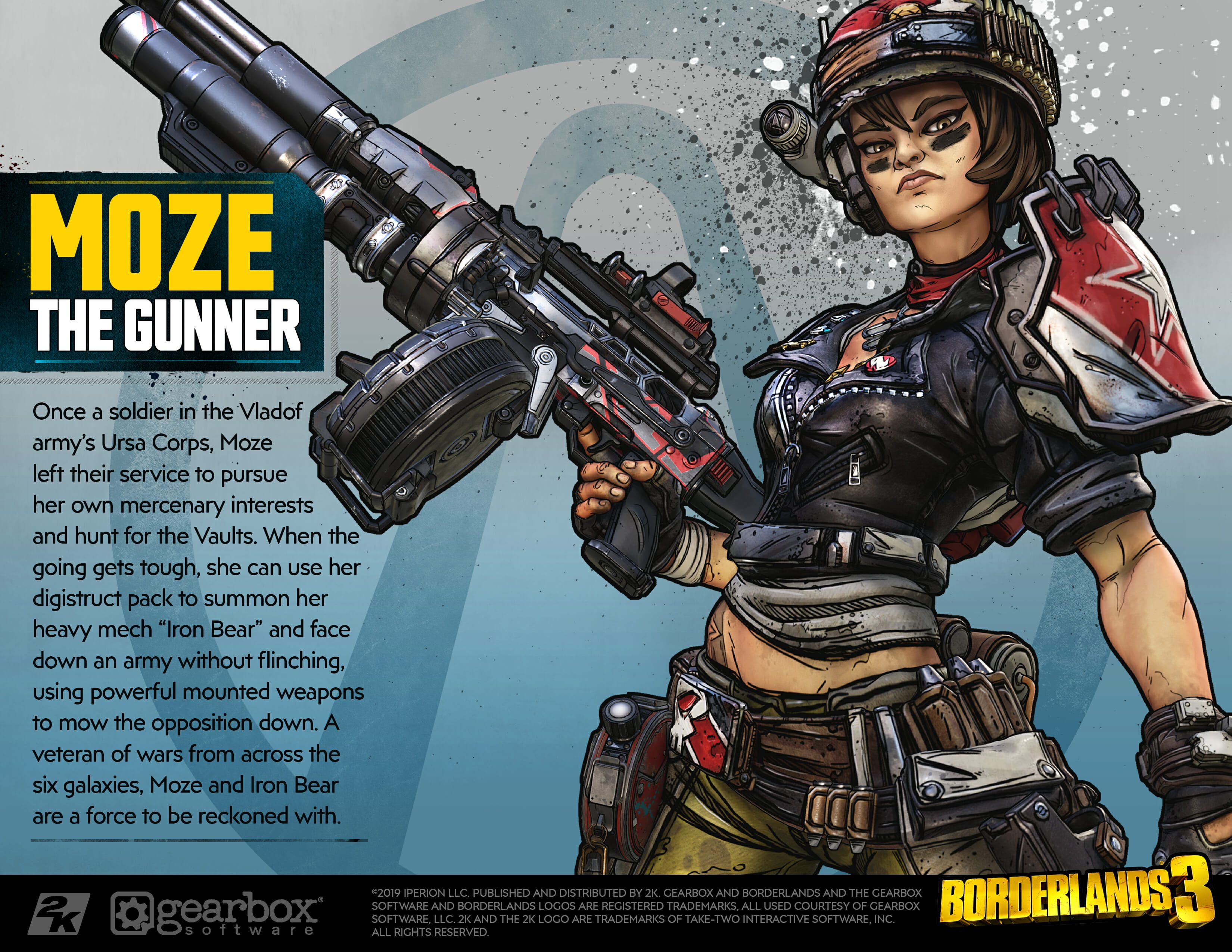 Check Out Borderlands 3 S Vault Hunters And Win 5 000 With Your Best Cosplay Borderlands Borderlands Art Borderlands Series