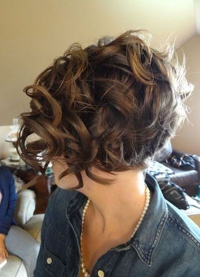 Best 10 Hairstyles For Short Curly Hair 2018 Haircuts Short