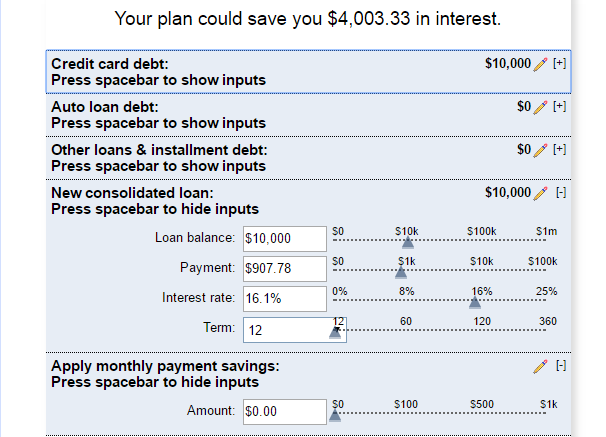 Debt Payoff Calculator  Debt Free Life    Debt And