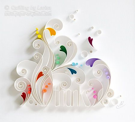 quilling , quilling paper, thanks, annyversary, wedding, quilling gift, paper art, art, love, paper hearts, love heart, love ,for her, etsy, larisa zasadna, design, love heart, hearts, quilling art, quilling paper art