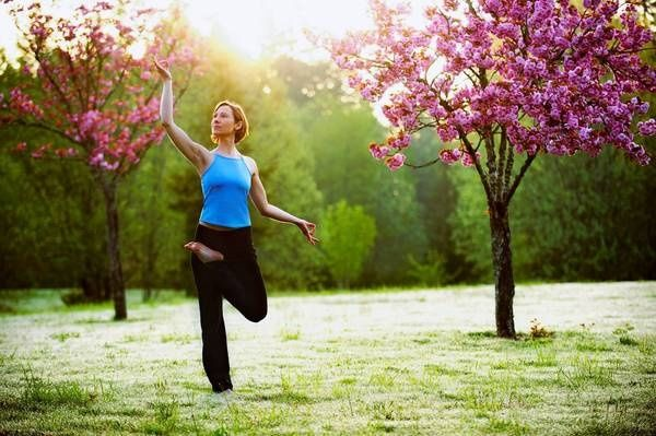 yoga in nature | Yoga in nature - Beautiful Trees
