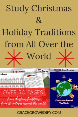 photo about Home and Family Christmas Workbook called Review Xmas Holiday vacation Traditions against All Earlier mentioned the World-wide