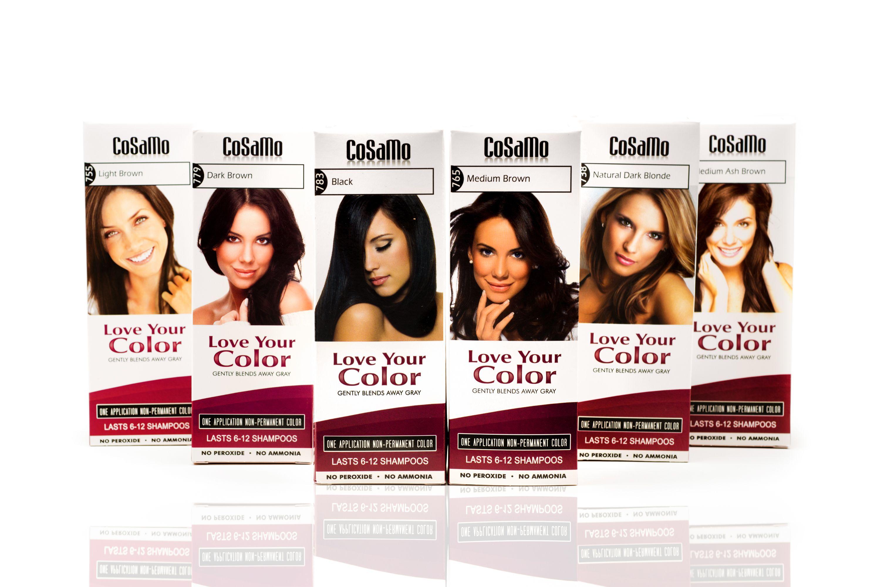 Cosamo Nonpermanent Haircolor No Ammonia No Peroxide No Ppd