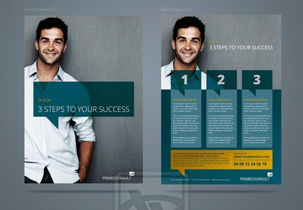 Some Inspiration For Your Next Flyer Design Project | Corporate