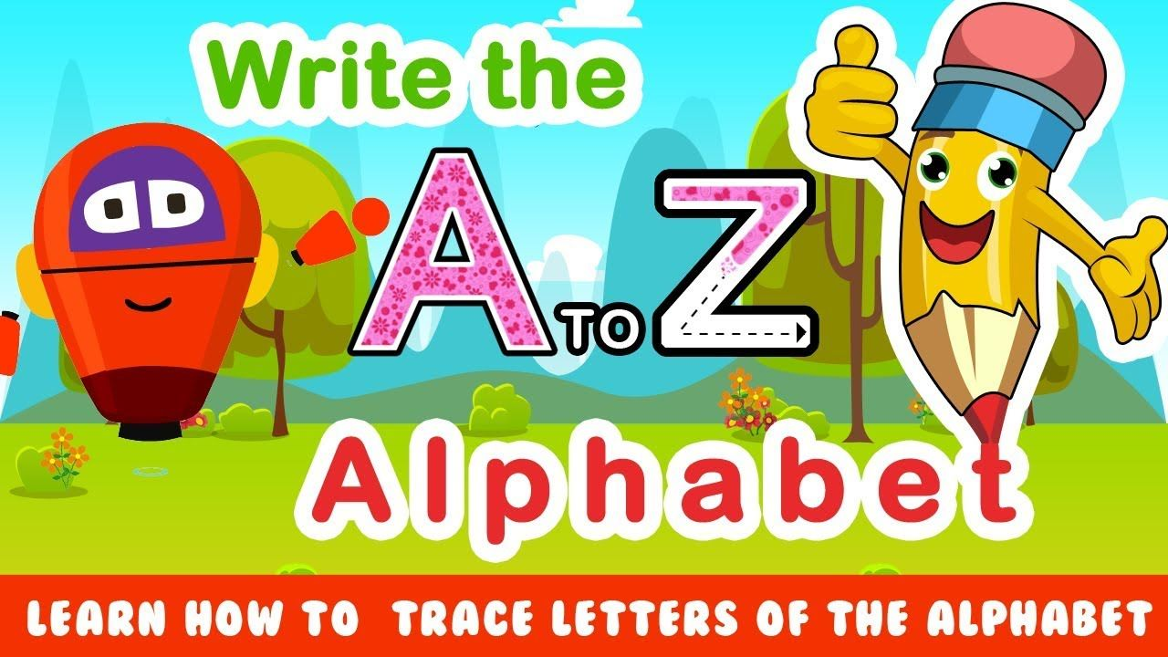 How to Write Letters Aa Zz Learning to Write the