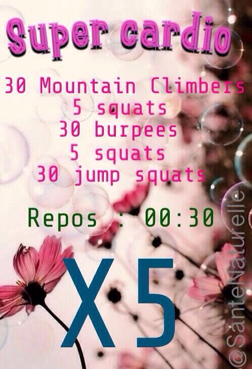 Workout ~ Cardio