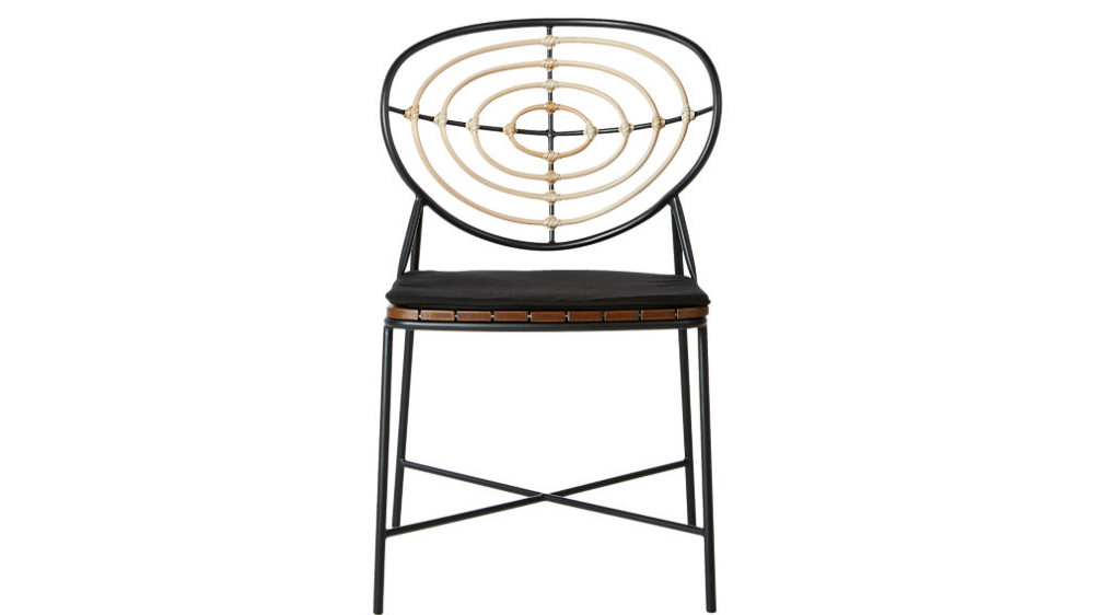Oval Back Dining Chair Cb2 In 2020 Dining Chairs Modern Dining Chairs Furniture Dining Chairs