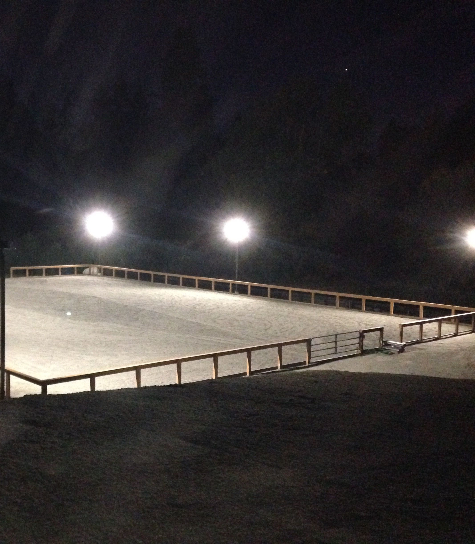 Outdoor arena lights arenas pinterest round pen and horse outdoor arena lights workwithnaturefo