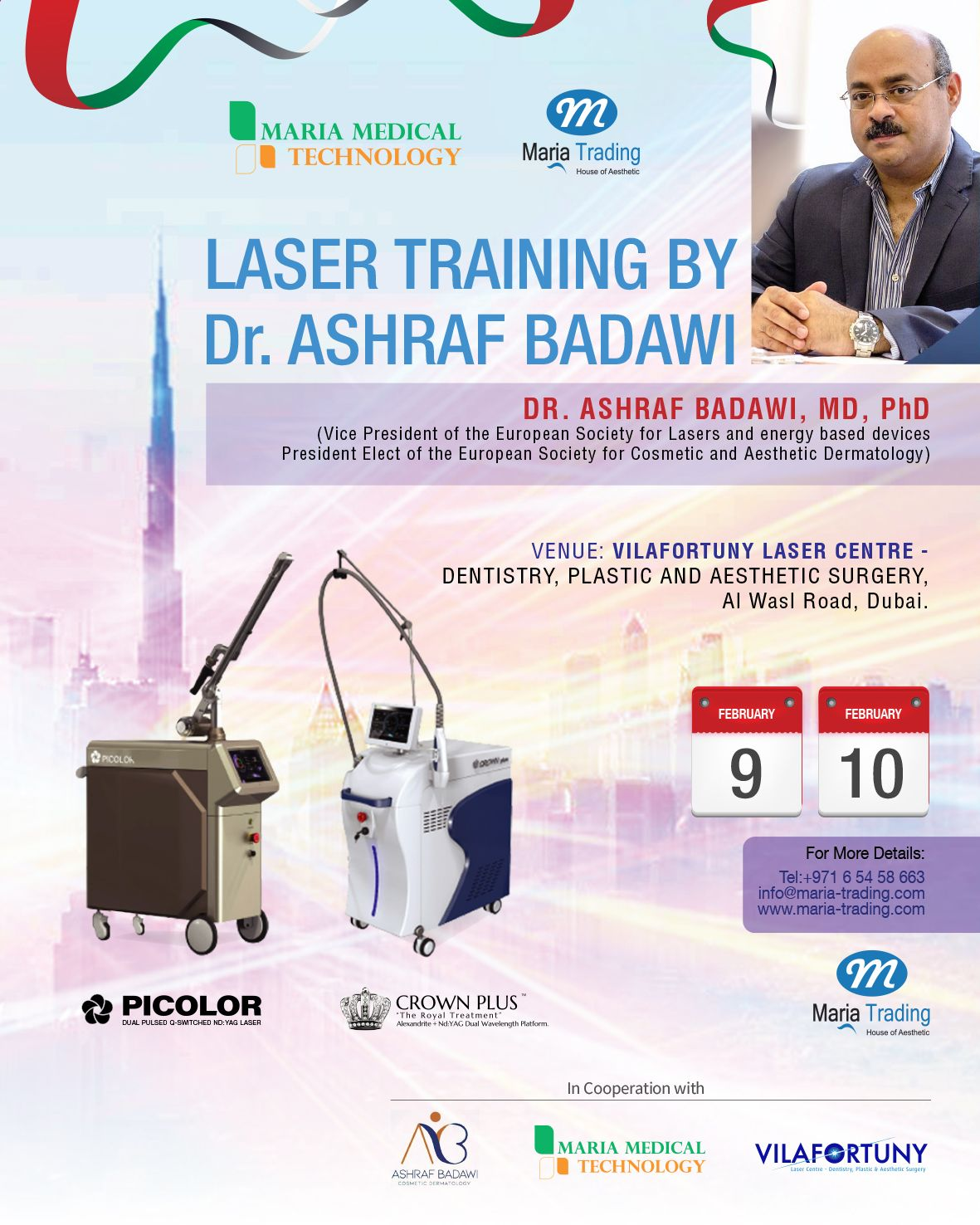 Maria Trading | House of Aesthetics Laser Training by Dr
