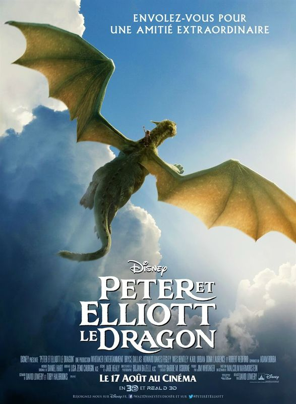 Peter Et Elliott Le Dragon De David Lowery