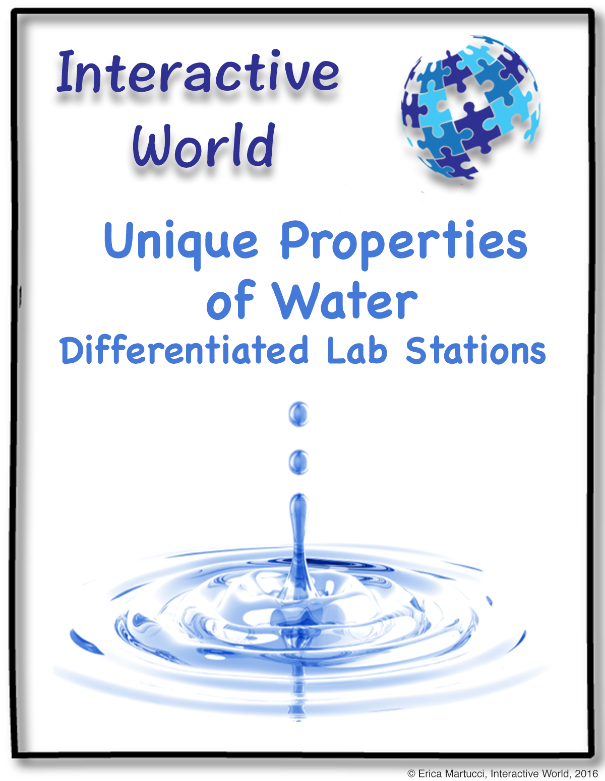 Unique Properties Of Water Differentiated Lab Stations