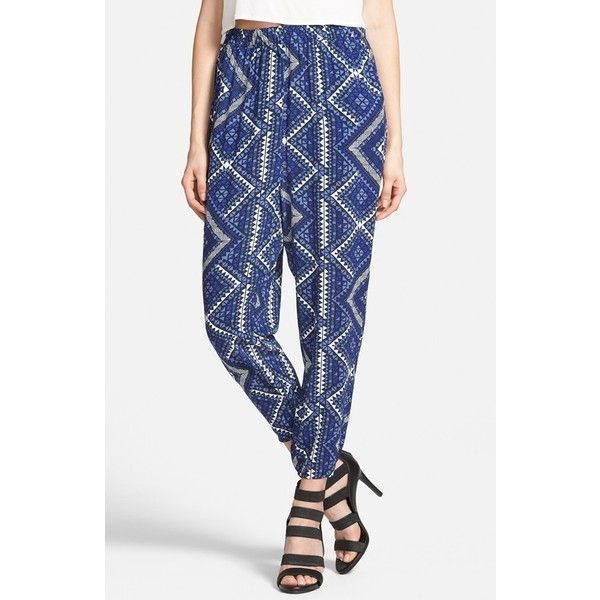 fdcedfe3e4b Leith Crop Print Pants ( 35) ❤ liked on Polyvore