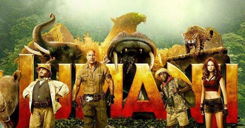 Jumanji Bem Vindo A Selva Filme Ultrapassa Liga Da Justica E Logan Nas Bilheterias Dos Eua Welcome To The Jungle Jungle Movies Online