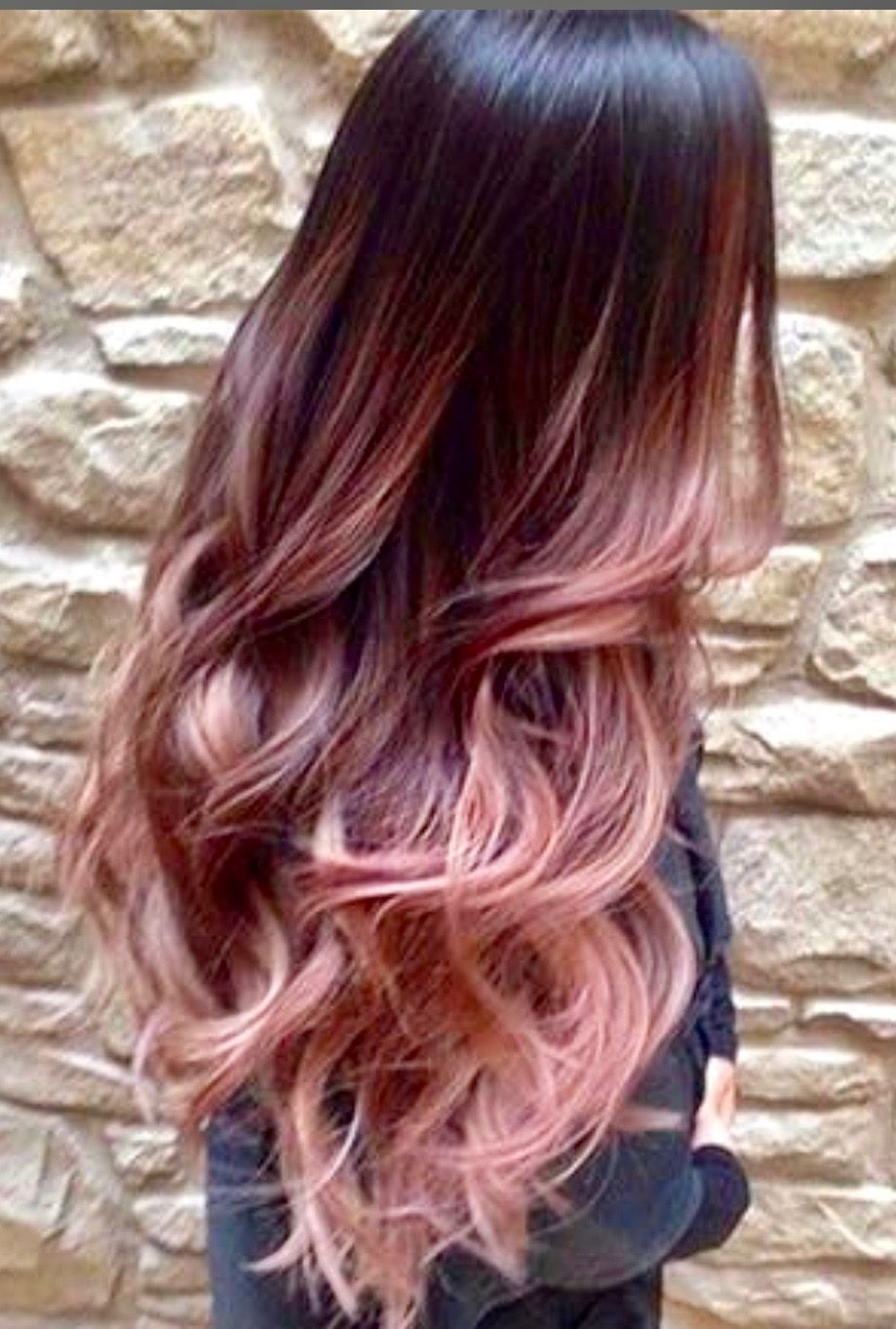 Pin by Alexis Holladay on Rose gold hair? in 2019