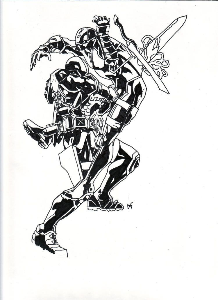Read moreGreat Deathstroke Coloring Pages Arkham Origins