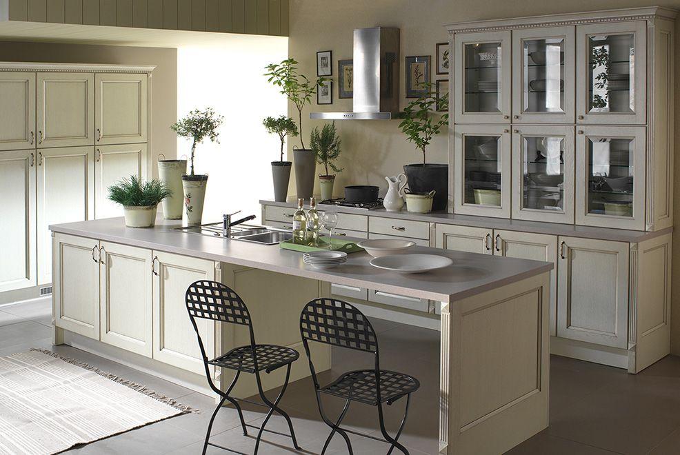 classic white kitchen Marzena Atlas | Tall kitchen ...