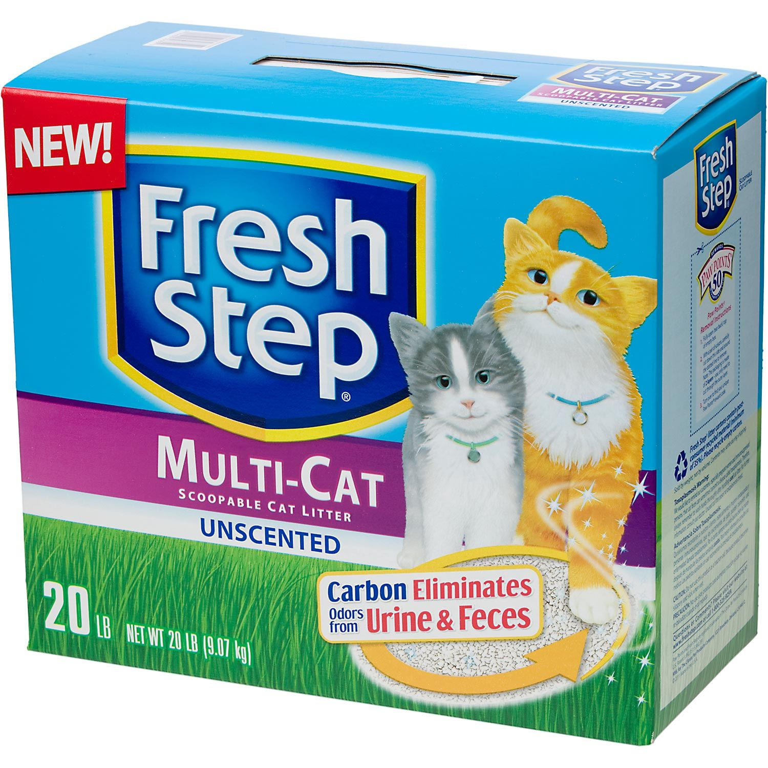 Fresh Step Premium Scoopable Unscented Clumping Cat Litter
