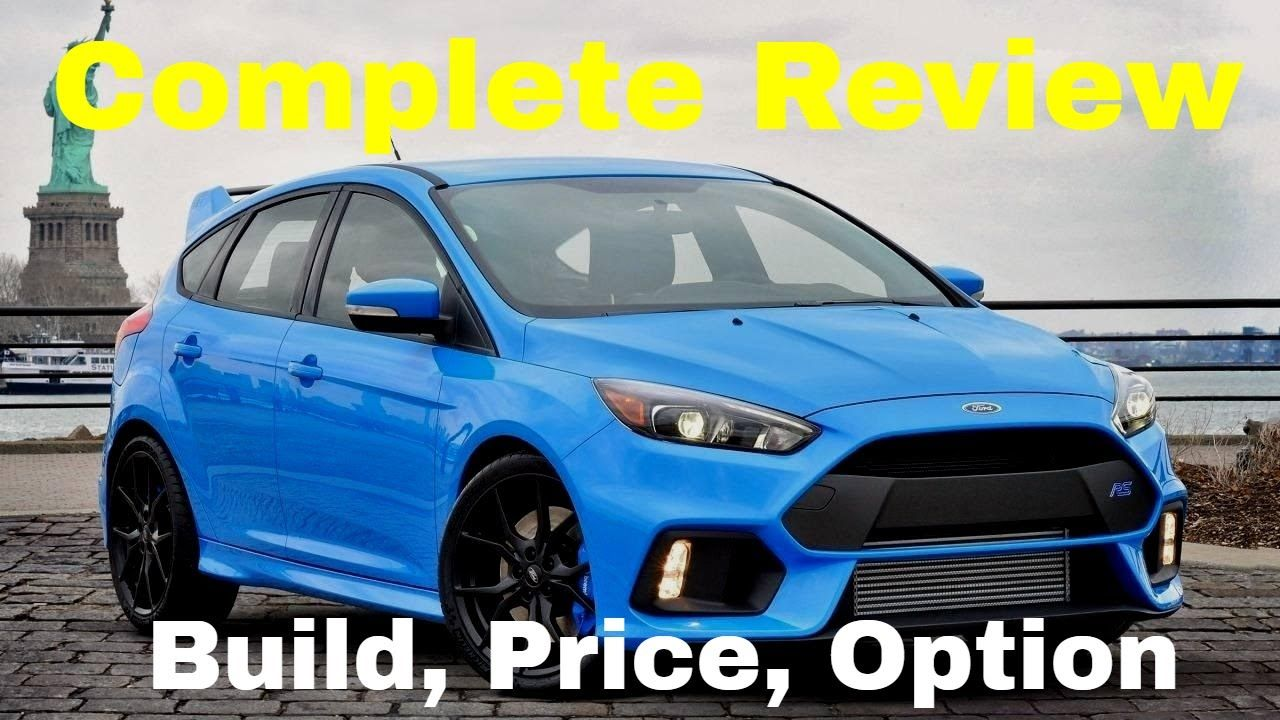 This Is The Last Year For The Fordfocusrs And The 2018 Focus Rs Is