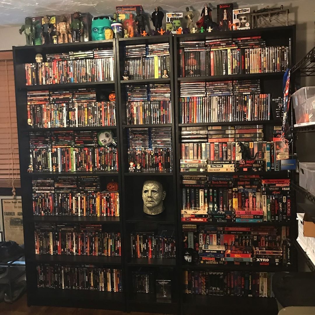 Finally got around to updating the horror movie collection ...