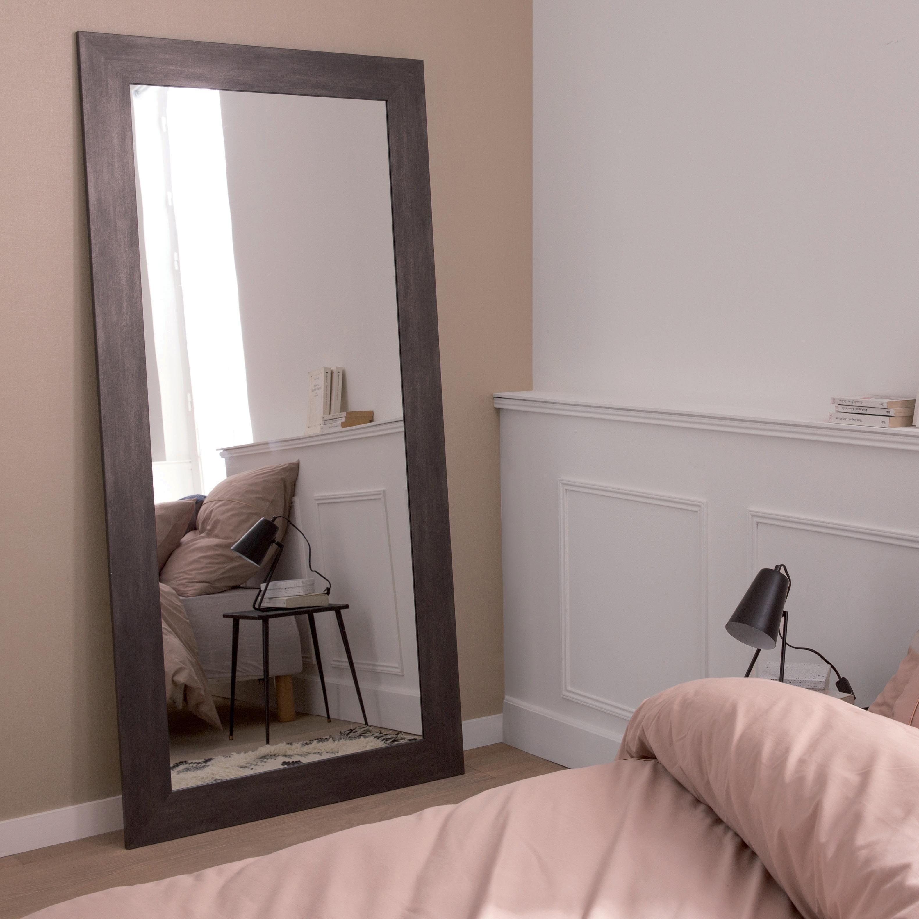 Specchio A Parete Rettangolare Loft Grafite 87x187 Cm Inspire Prezzo Online Leroy Merlin Specchio Da Parete Idee Per Decorare La Casa Idea Di Decorazione