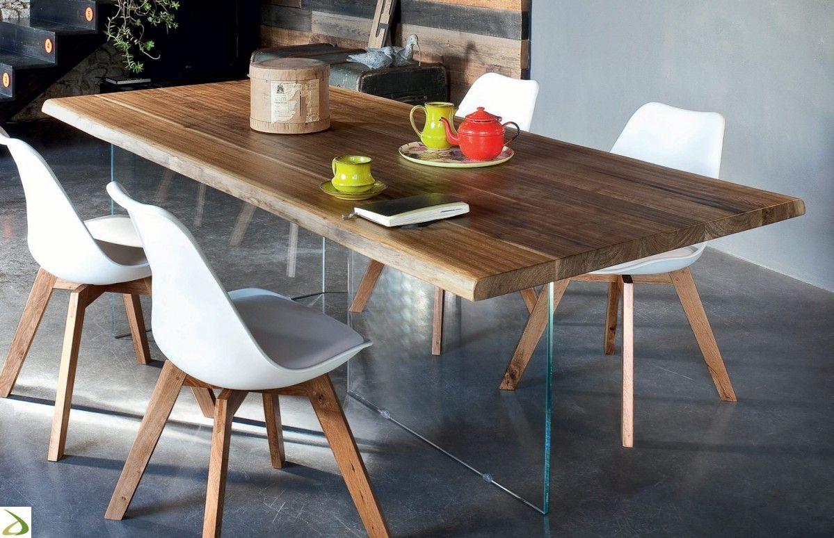 Tavoli Con Gambe Di Vetro : Altacorte tavolo con gambe vetro narciso g muebles