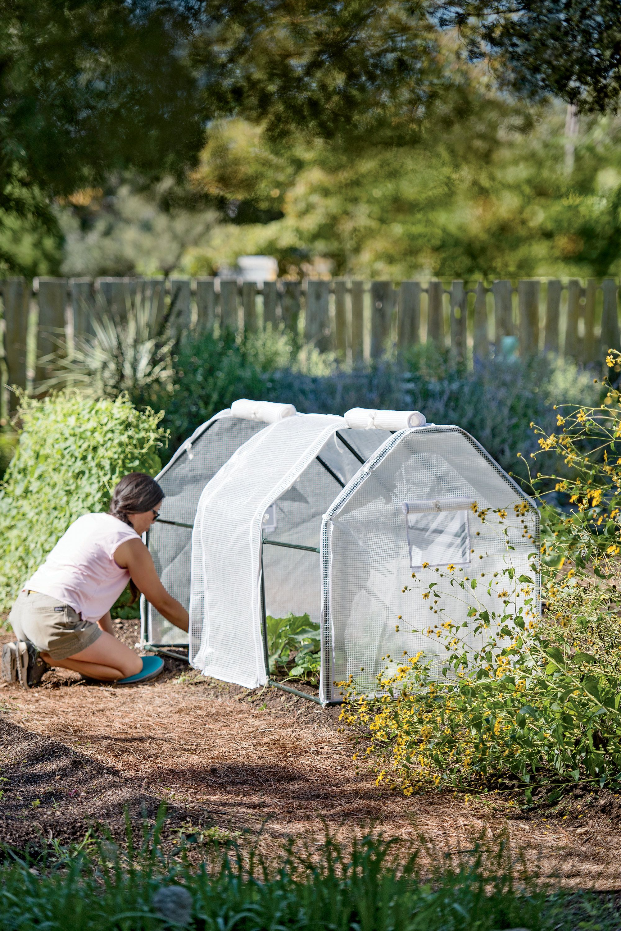 3 Season Garden Protection Tent 4 X8 Raised Bed Cover