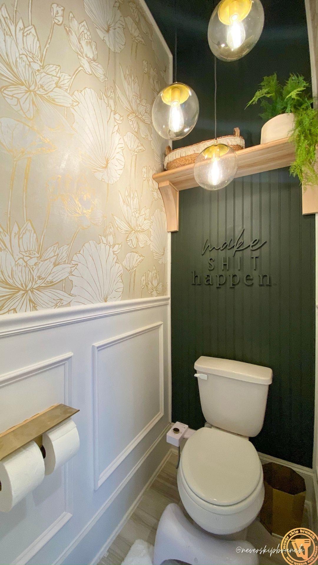 Water Closet Makeover: Quarter Bath Reveal