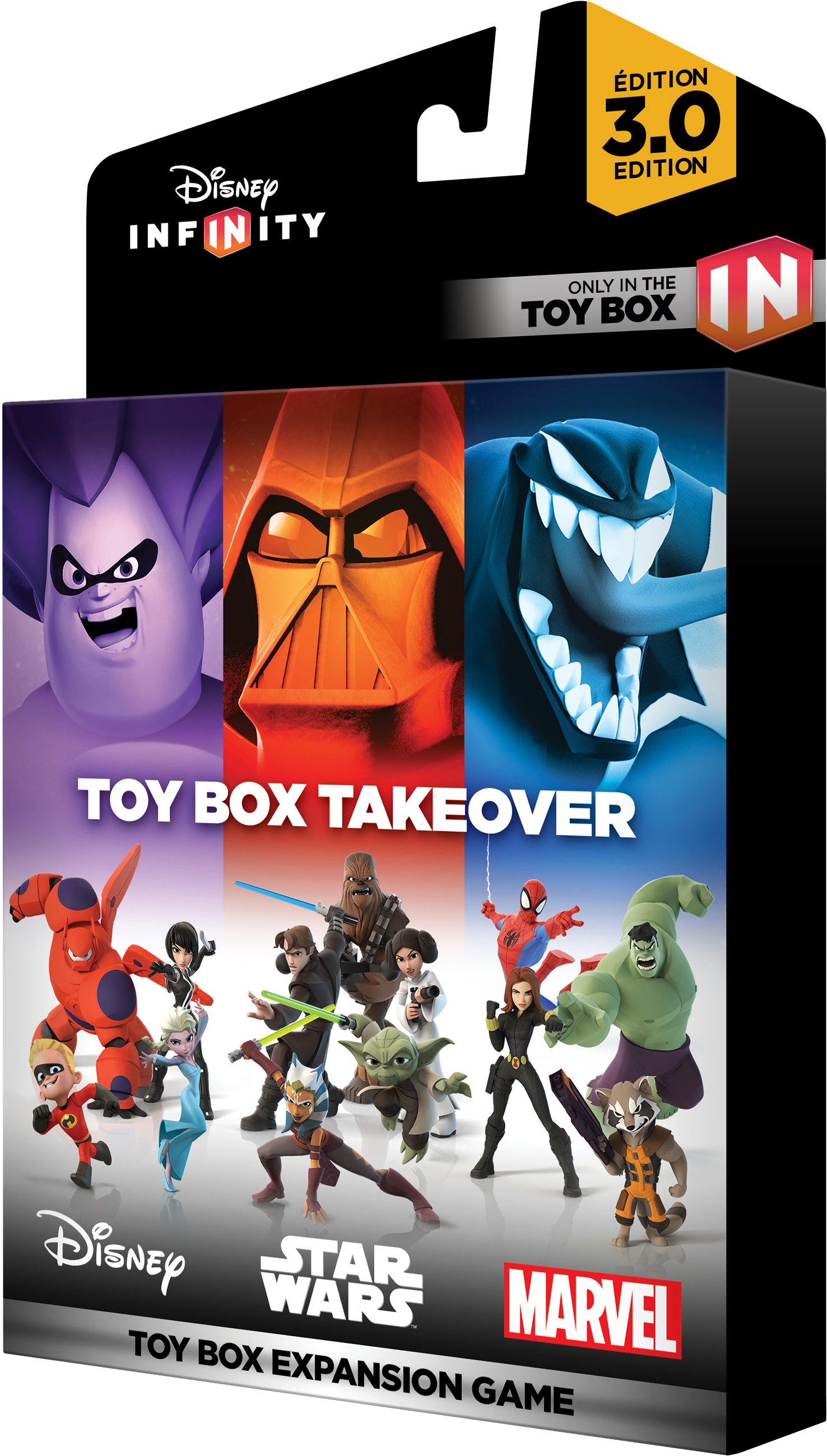 Disney Infinity Toy Box Takeover (With images) Disney