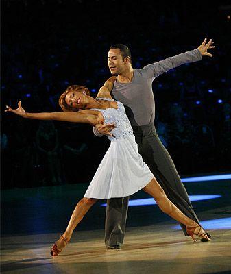 Ballroom dancing - my old job!