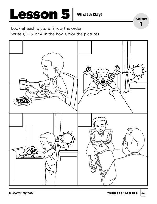 Learning About The Importance Of Breakfast In Kindergarten