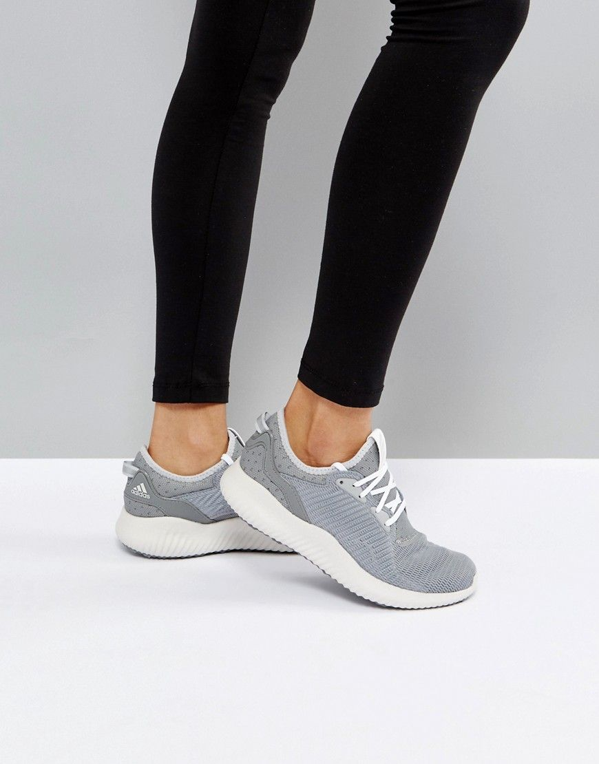 promo code 32330 06a07 ADIDAS RUNNING ALPHABOUNCE LUX SNEAKERS IN GRAY