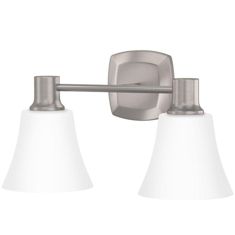Photo of Miseno ML4795VL Wilmington 2 Light 16″ Wide Bathroom Vanity Light Brushed Nickel Indoor Lighting Bathroom Fixtures Vanity Light