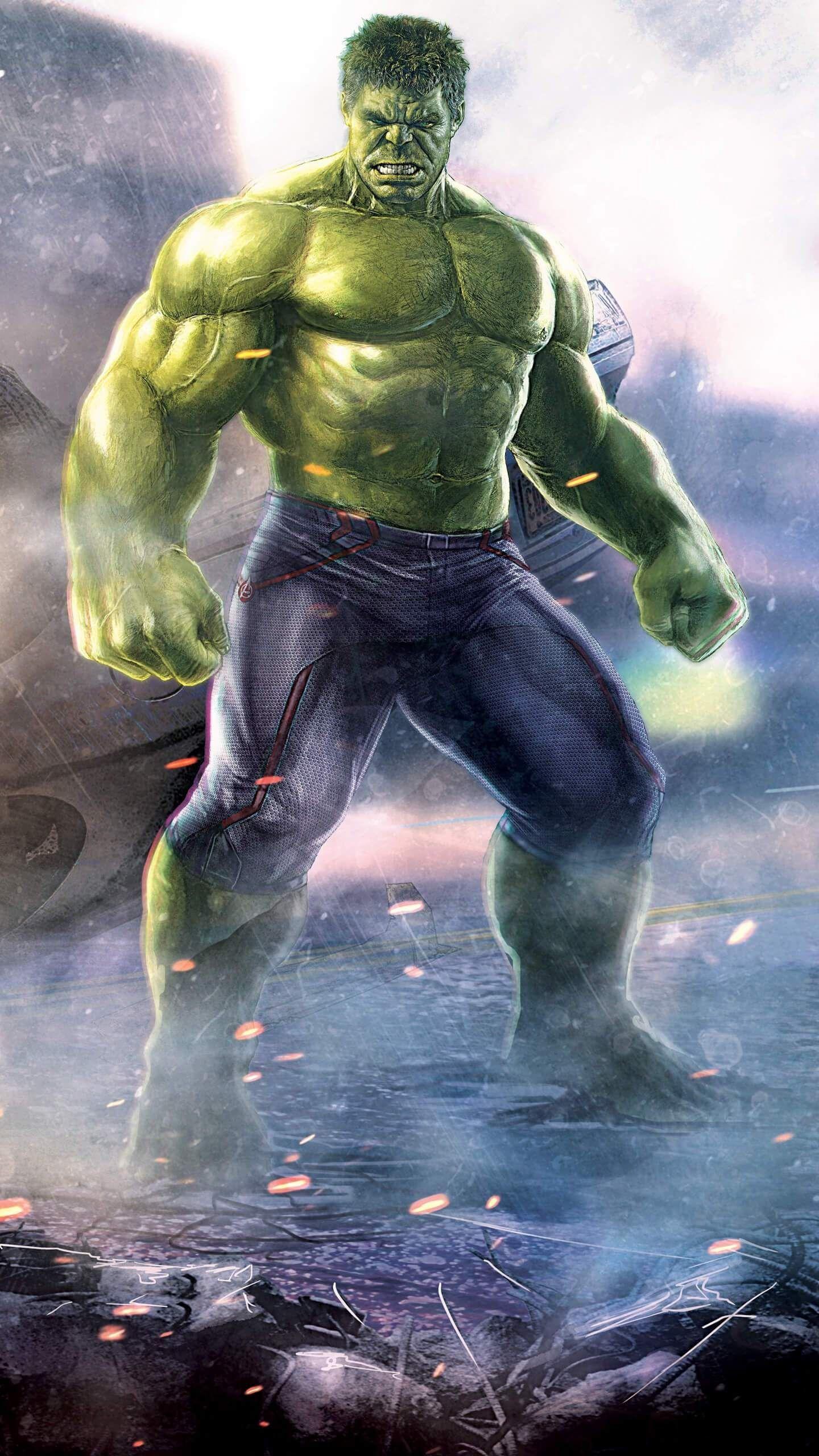 The Hulk Strongest Avenger iPhone Wallpaper (Dengan gambar)