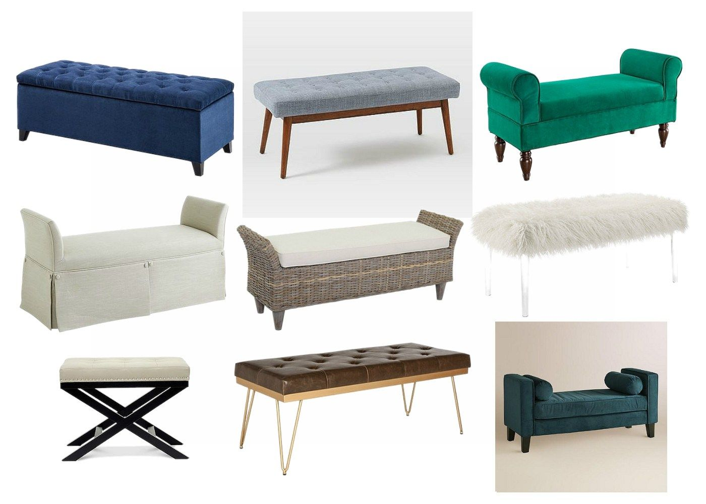 How To Choose The Best Bedroom Bench Simple Stylings Bedroom