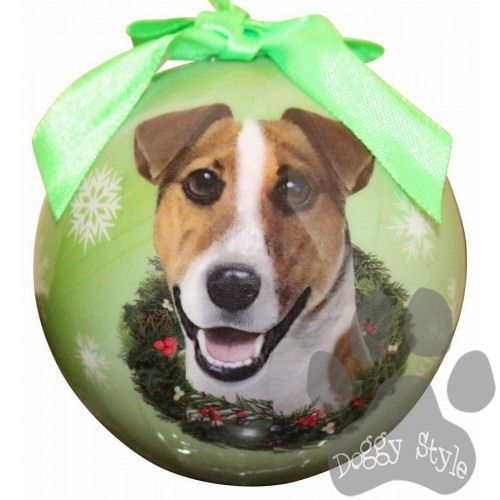 Jack Russell Terrier Shatterproof Dog Breed Christmas Ornament  http://doggystylegifts.com/ - Jack Russell Terrier Shatterproof Dog Breed Christmas Ornament