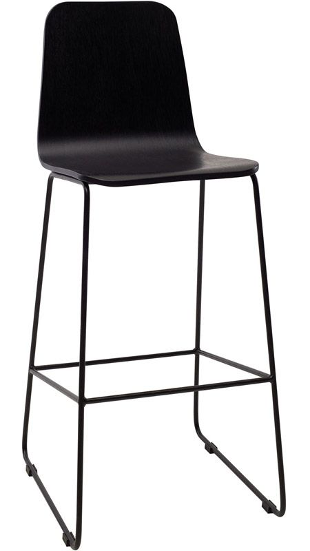 Miraculous Agnes High Back Barstool Dining In Style Black Bar Gamerscity Chair Design For Home Gamerscityorg