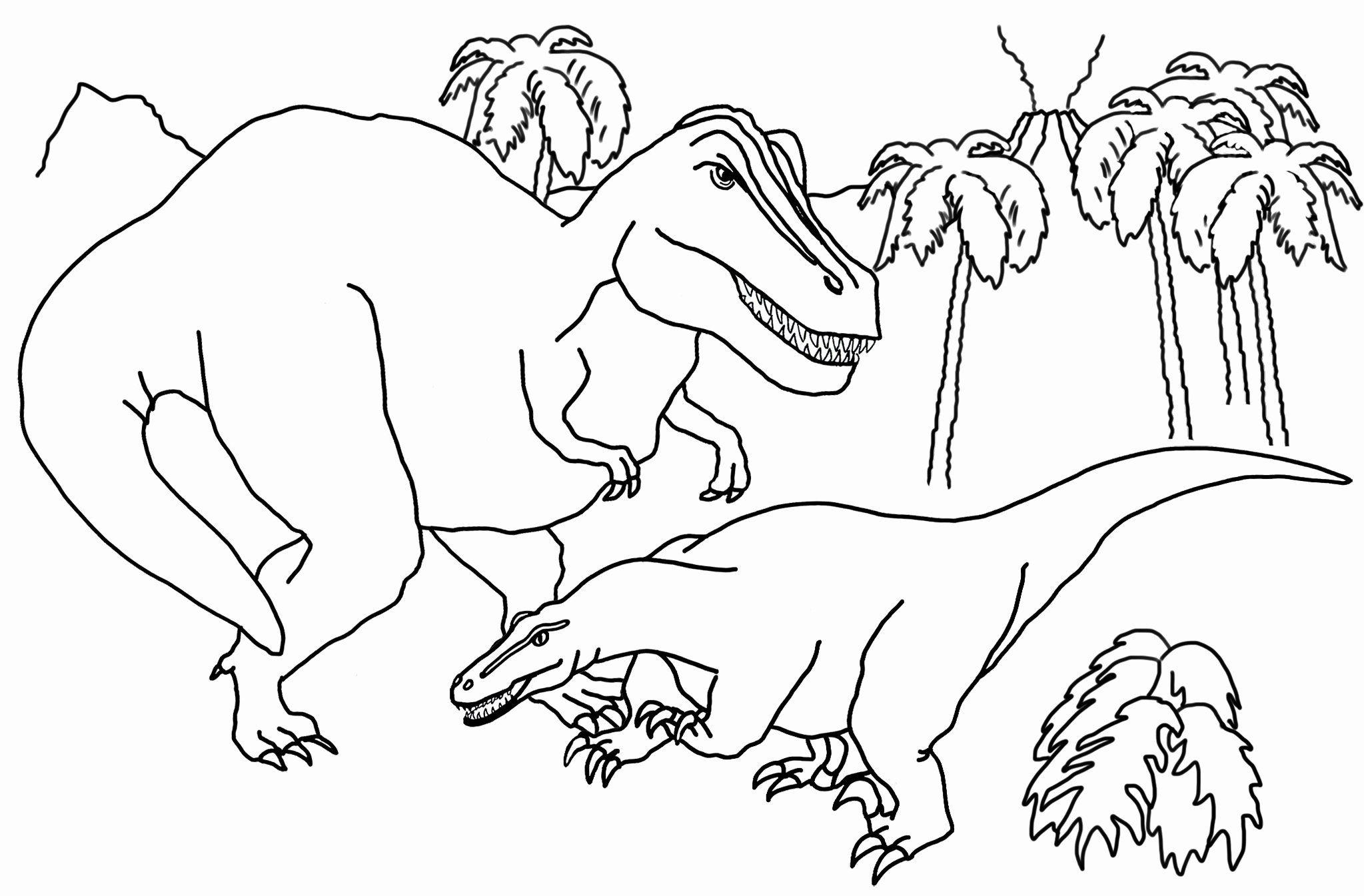 Free Printable Dinosaur Coloring Pages Pdf