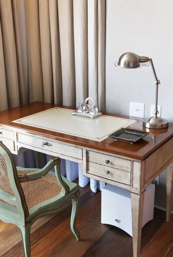 Portfolio French Style Desk Office Table And Chairs Classic Desk