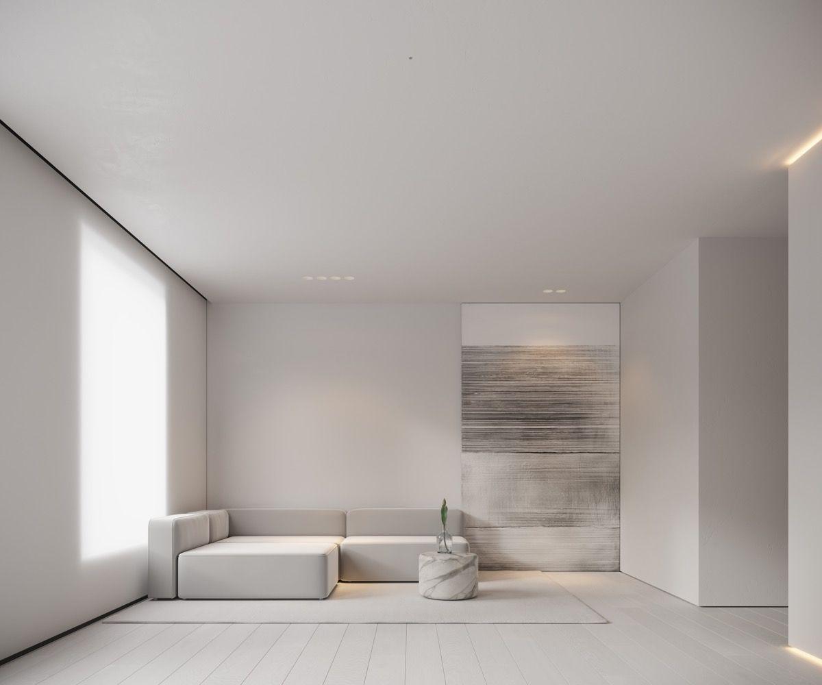 Neutral Modern Minimalist Interior Design 4 Examples That
