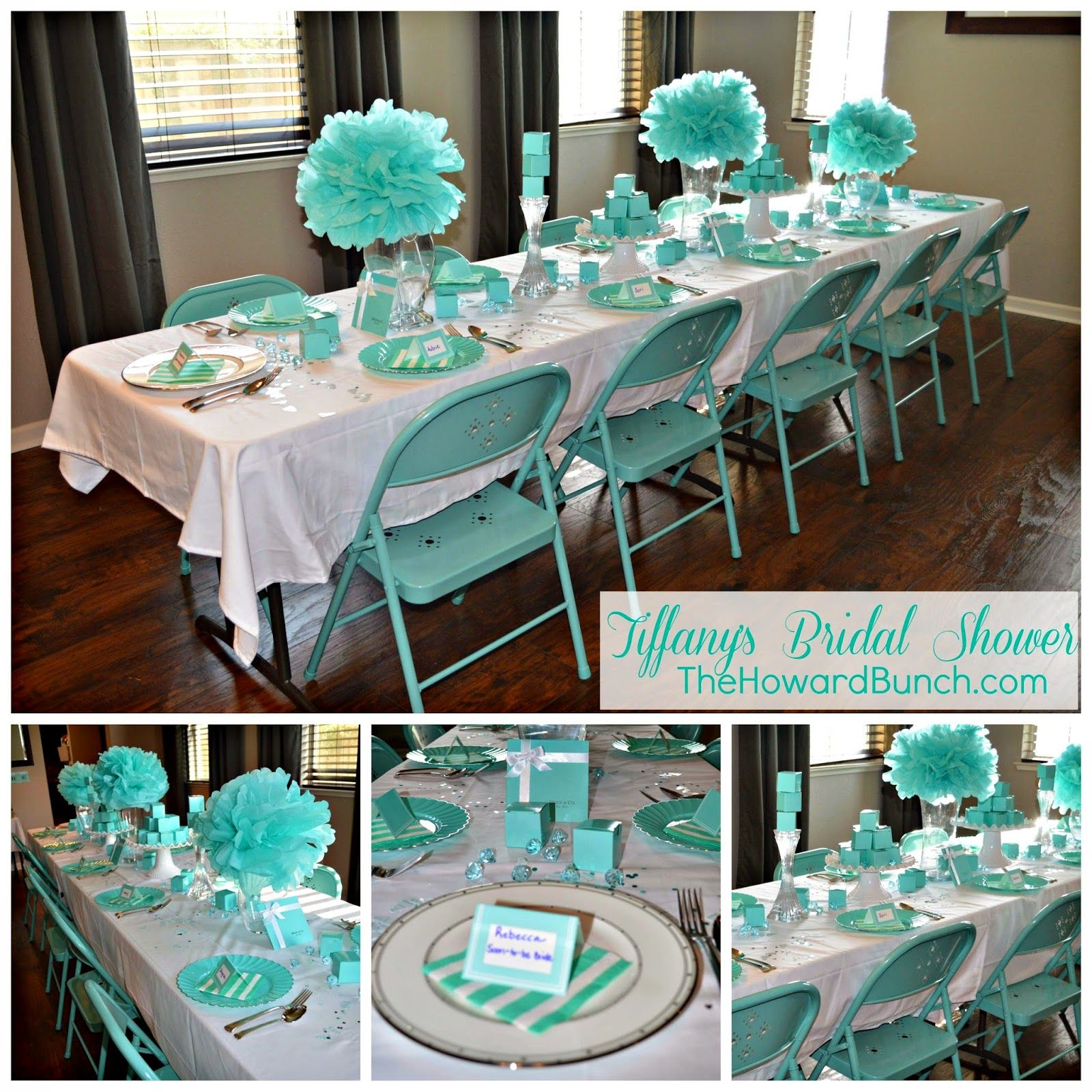 Tiffany Blue Wedding Decoration Ideas: The Howard Bunch: A Breakfast At Tiffany's Bridal Shower