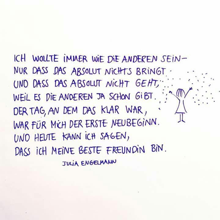 Pin von ICH :-) auf Julia Engelmann | Quotes, Slam poetry ...