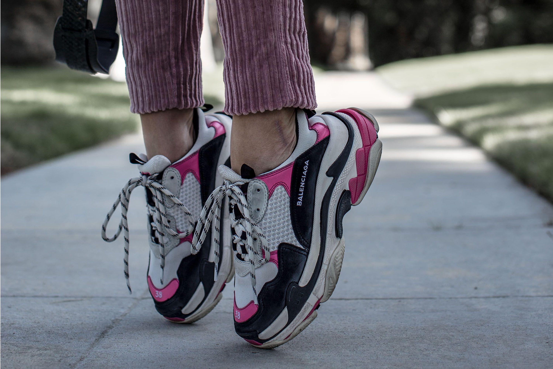 20652caa58 Balenciaga Sneaker Triple S Pink