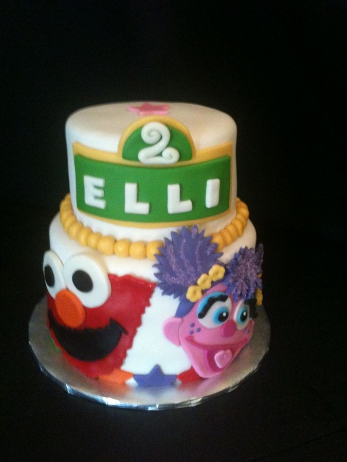 Abby Cadabby And Elmo Children S Birthday Cakes Birthday