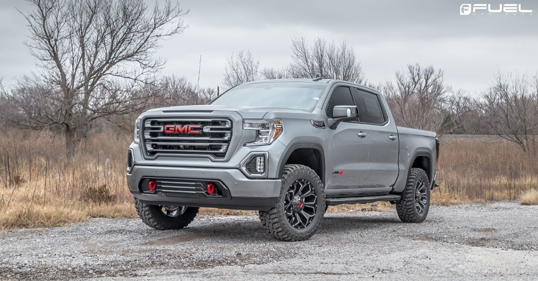 Gmc Sierra Cast Fueloffroad Assault Gloass Black Milled Gmc Trucks Sierra Gmc Sierra Gmc Trucks