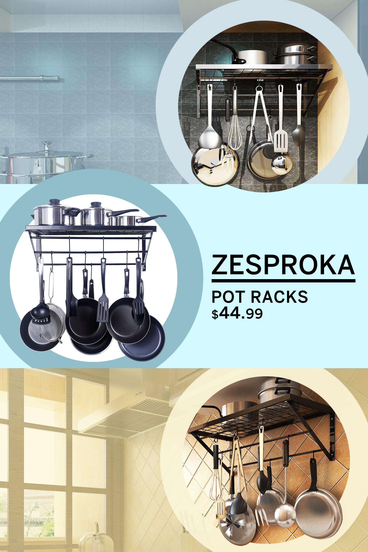Kitchen ideas with Zesproka pan racks Full Storage Organize and