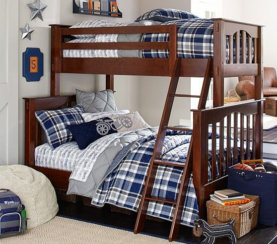 Kendall Twin Over Full Bunk Bed Boudoirs And Enchanted Dreams