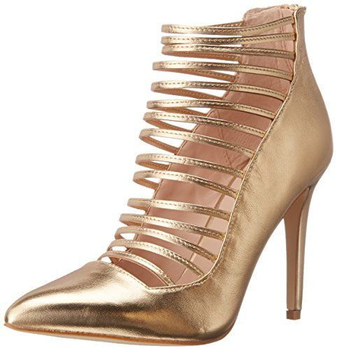 Aldo Women's Astevia Dress Pump, Gold, 7 B US Aldo