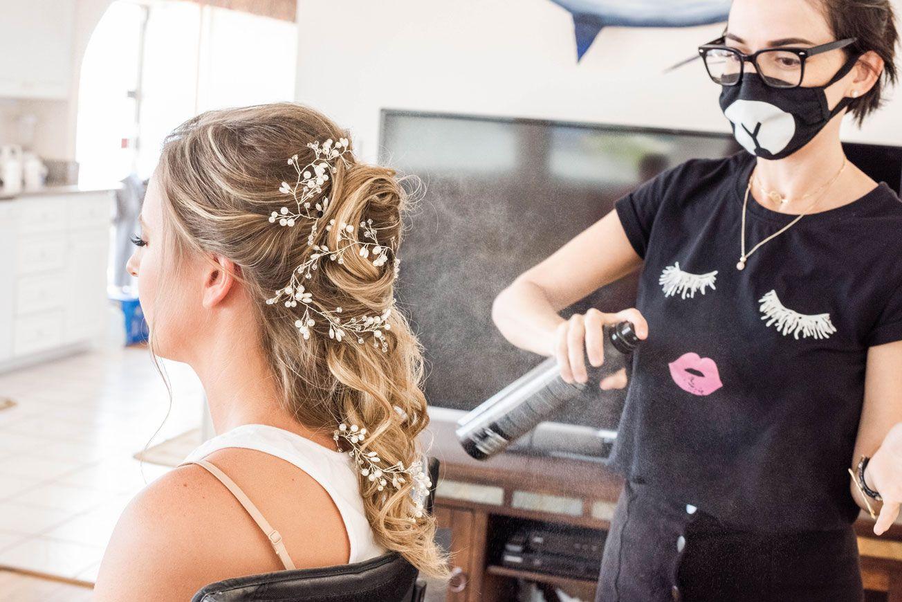 bridal hair stylist in 2019 | fort myers beach | wedding